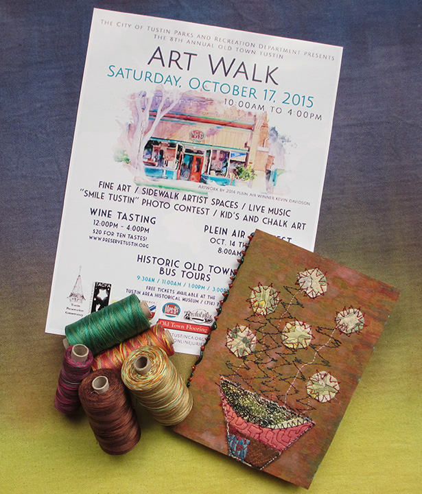 Tustin art walk promo 2015